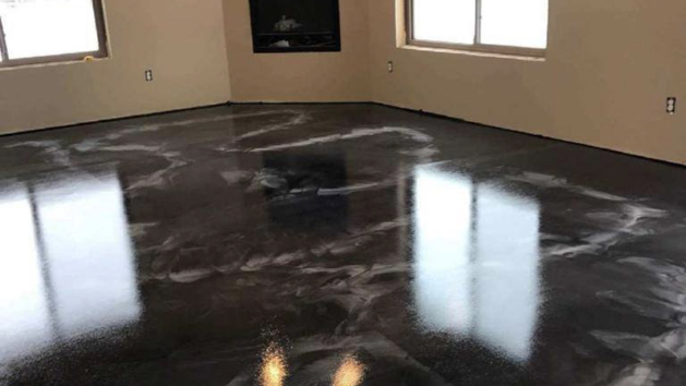 floor coating metallic 4