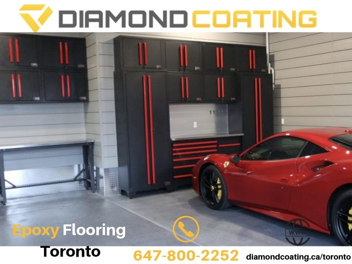 Diamond Coating Epoxy Flooring Offers Toronto Garage  Renovations